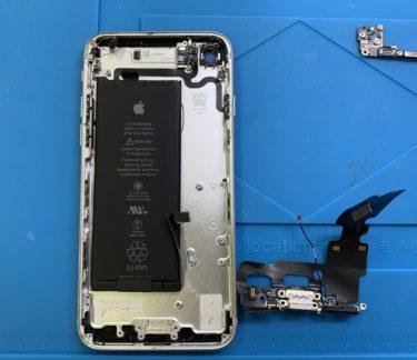 iPhone7充電コネクタ交換修理
