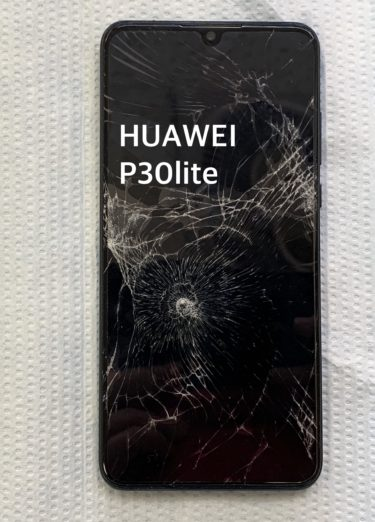 HUAWEI P30lite 画面交換修理