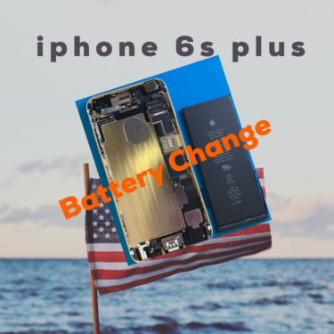 [iPhone6sPlusバッテリー交換]
