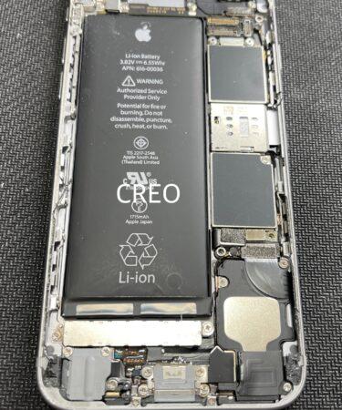 iPhoneバッテリー交換修理時間について